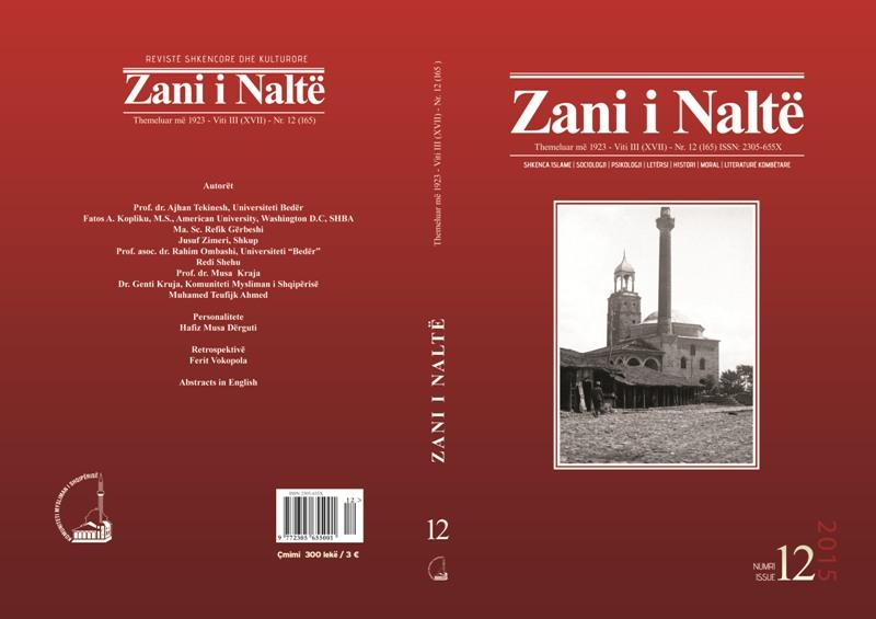 kopertina Zani i  Nalte  nr 12