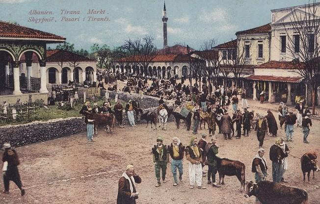 Tregu-i-Tiranës-1918