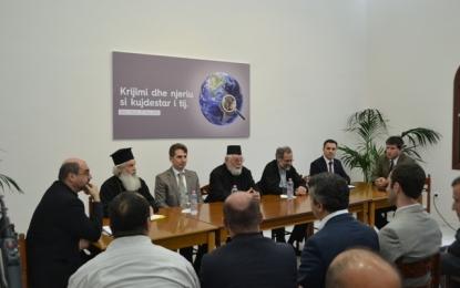 """Teologë myslimanë e të krishterë simpozium shkencor """"Krijimi dhe njeriu si kujdestar i tij"""""""