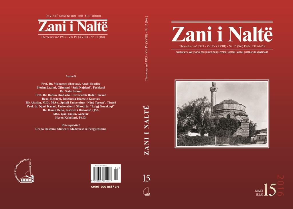 kopertina Zani i  Nalte  nr 15