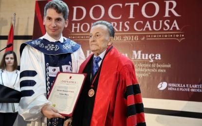 """Universiteti Bedër i akordon H. Selim Muçës titullin """"Doctor Honoris Causa"""""""