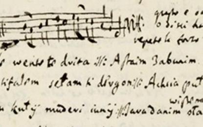 Regjistrimet më të hershme në folklorin muzikor shqiptar (ca. 1650)