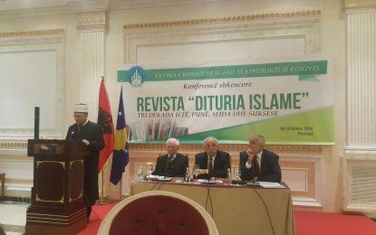 """H. Skender Bruçaj përshëndet konferencën e """"Diturisë Islame"""""""