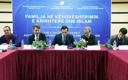 """Zhvillohet simpoziumi ndërfetar """"Familja në këndvështrimin e Krishterë dhe Islam"""""""