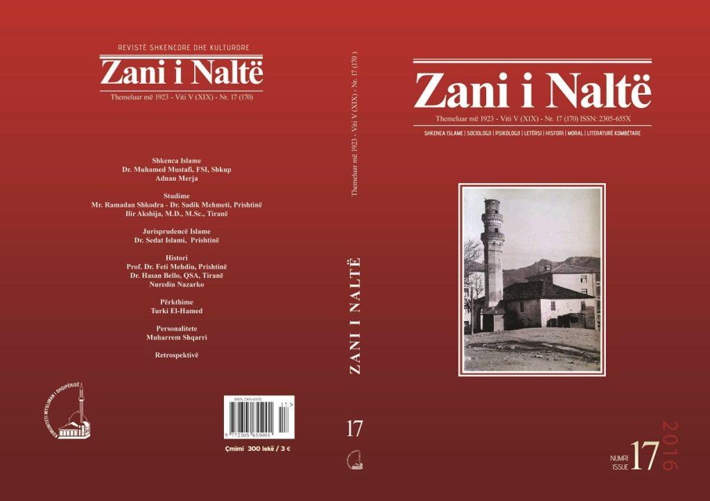 kopertina Zani i Nalte nr 17