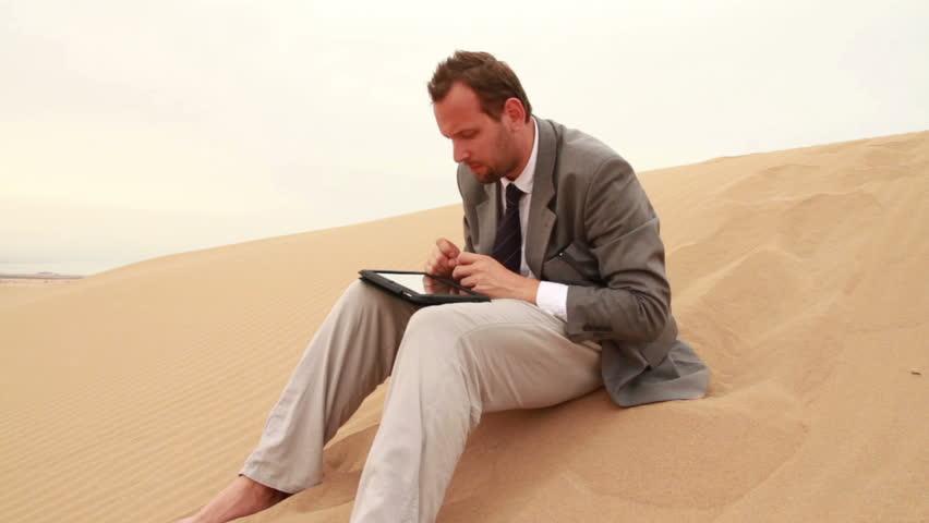 smartphone desert