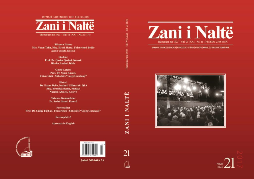 kopertina Zani i Nalte nr 21
