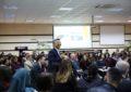 Ambasadori amerikan, takim me të rinjtë në KU Bedër