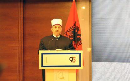 Fjala e myftiut të Kosovës, Naim ef. Tërnava në 95-vjetorin e themelimit të Komunitetit Mysliman Shqiptar