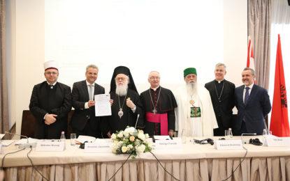 Deklaratë e Përbashkët e Komuniteteve Fetare në Shqipëri për Dialogun Ndërfetar