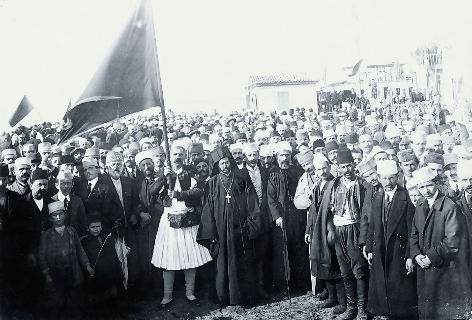 1 year after the declaration of Independence of ethnic Albania... Vlorë 28 November 1913...