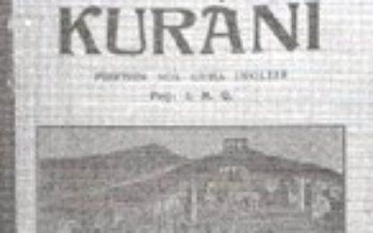 Ilo Mitko Qafëzezi dhe përkthimi i parë i pjesshëm i Kur'anit në shqip