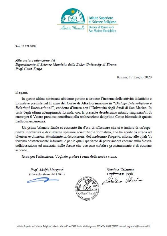 Rimini-letter