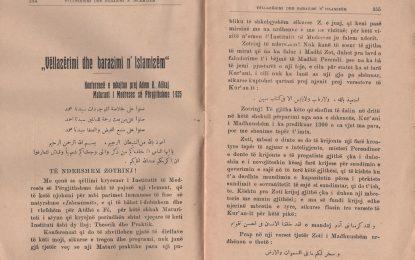 Vëllazërimi dhe barazimi n'islamizëm