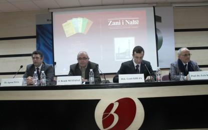 """Promovohet """"Zani i Naltë"""", revistë shkencore e kulturore"""