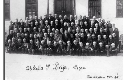 'Rroftë Shqipnia, rroftë arsimi shqip', kur Maqedonia perëndimore ishte pjesë e Shqipërisë etnike