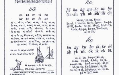 """""""Abetaret shqipe dhe pavarësia kombëtare-vështrim rreth abetareve dygjuhëshe shqip-italisht"""""""
