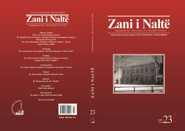 kopertina Zani i Nalte nr 23
