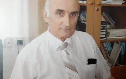 """Ndahet nga jeta Prof. Dr. Njazi Kazazi, anëtar i Bordit Editorial të Revistës """"Zani i Naltë"""""""